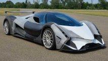 Devel Sixteen startet V16-Motor erst einmal ohne die vier Turbos