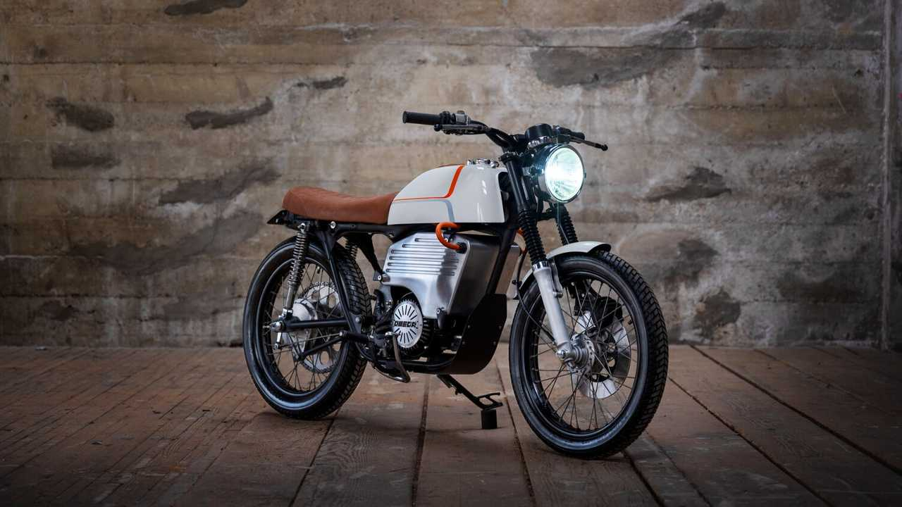 This Custom Electric Honda CB200 Puts A New Spin On Neo-Retro