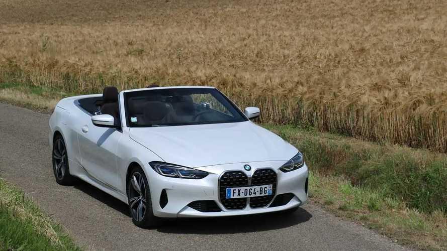 Essai BMW Série 4 Cabriolet (2021)