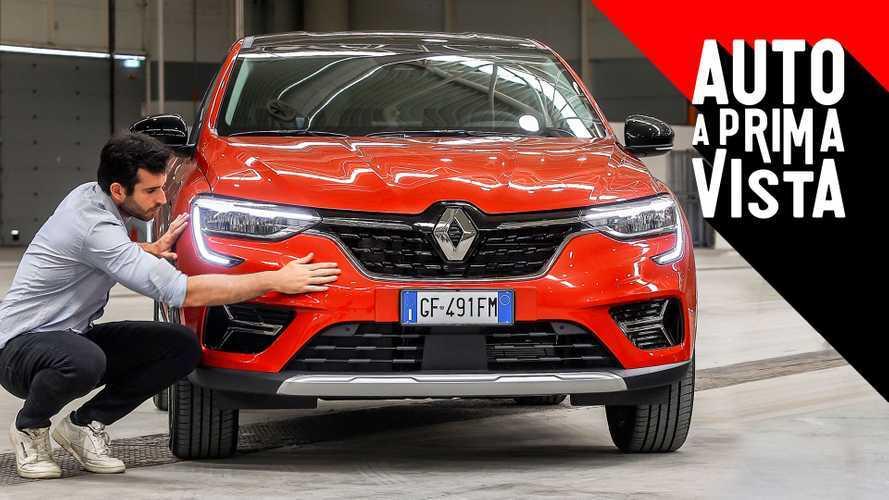 Nuovo Renault Arkana, com'è visto dal vivo per la prima volta