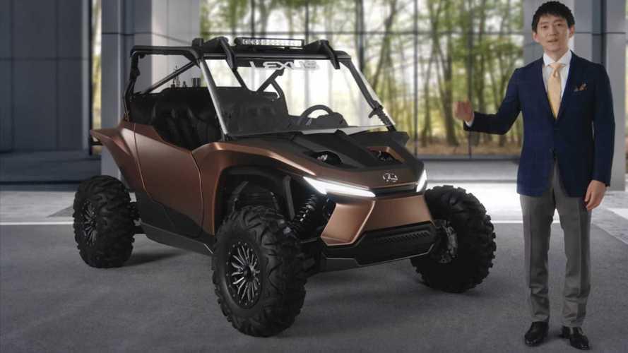 Lexus Shows Off Intriguing Hydrogen-Powered Recreational Vehicle