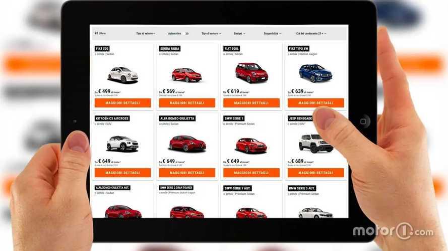 Quanto costa noleggiare un'auto al mese. Come funziona Sixt+