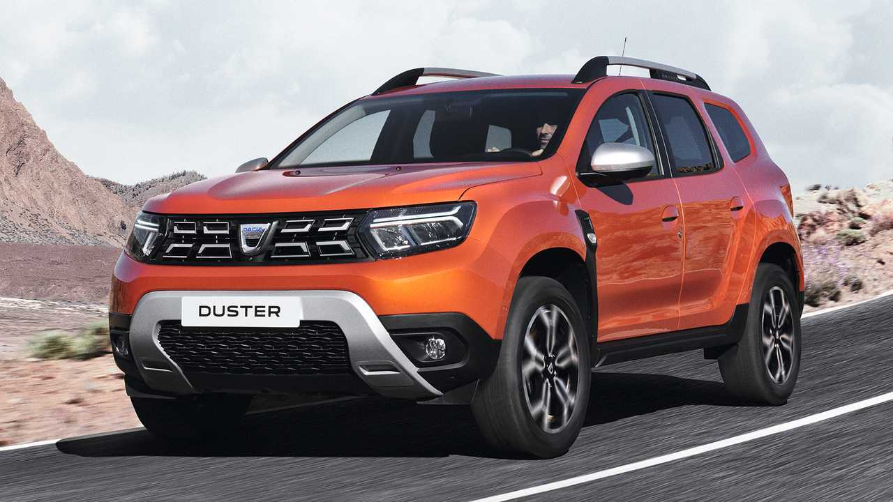 Dacia Duster restyling 2021