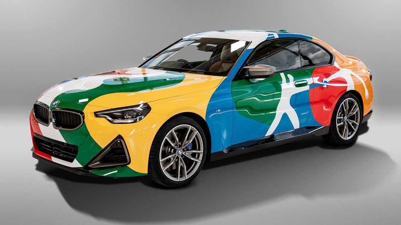 2022 BMW 2 Series Coupe art car