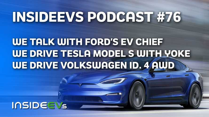 We Talk With Ford Electrification Chief, Drive Model S With Yoke