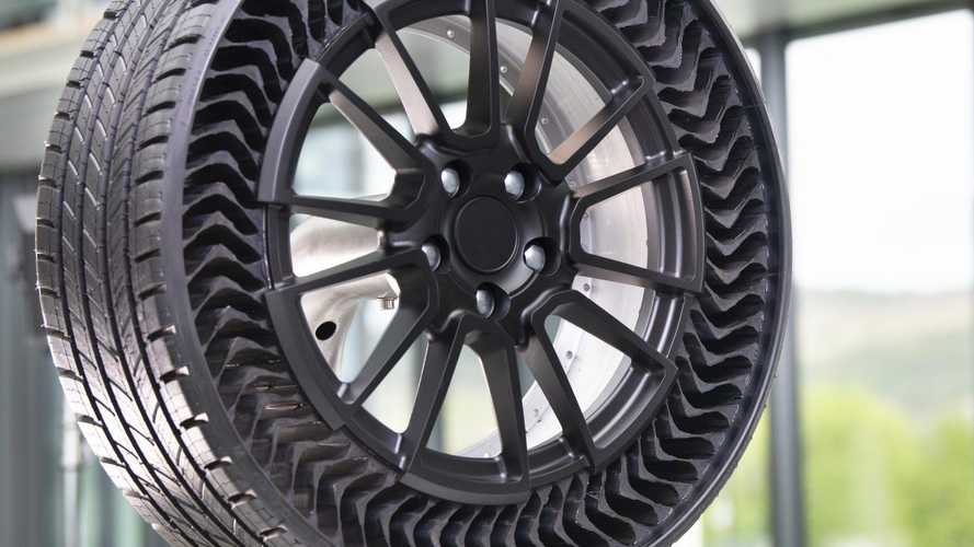 Michelin Uptis Airless Tyres