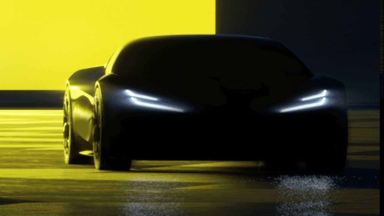 2026 Lotus Type 135 sports car teaser