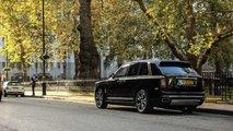 Rolls-Royce Cullinan on the streets of London