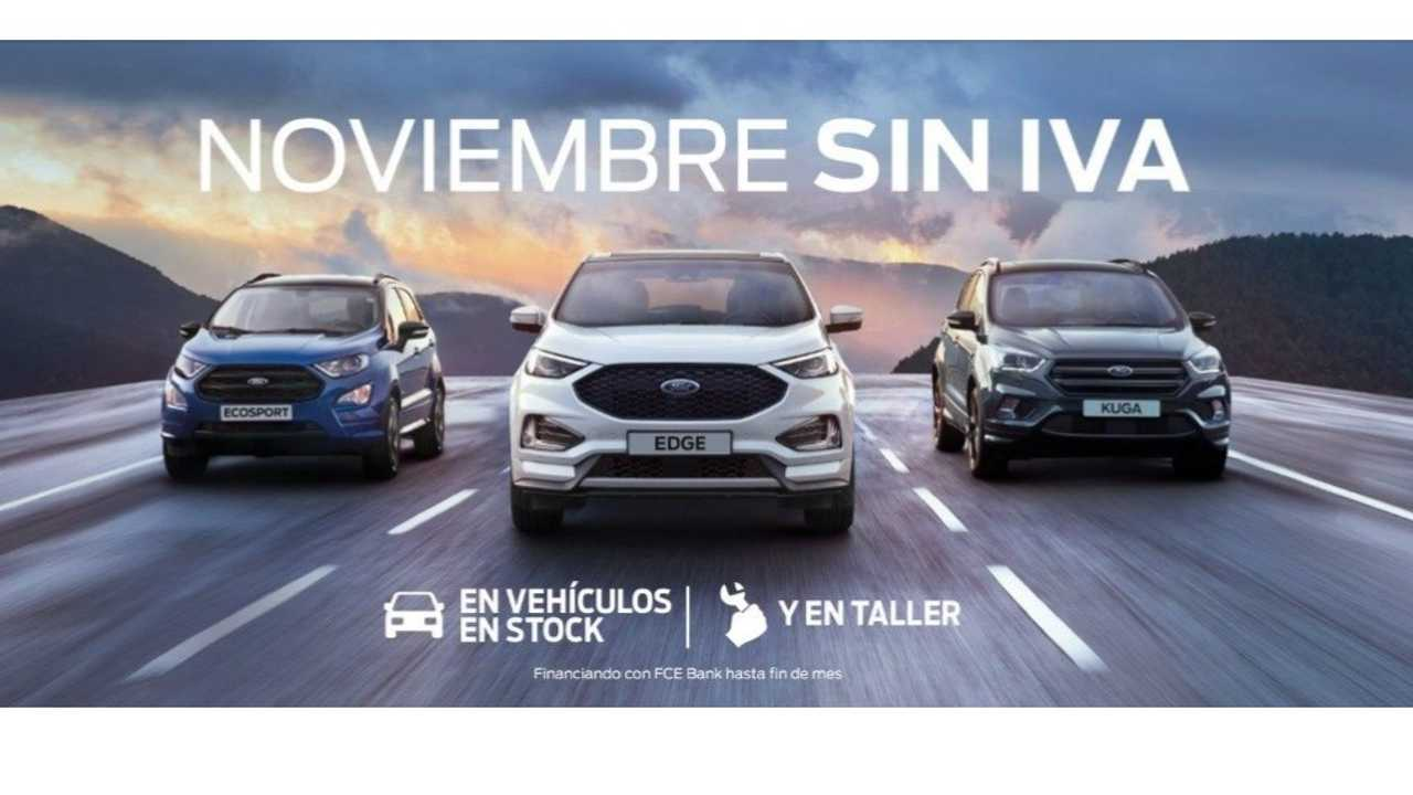 Noviembre sin IVA de Ford