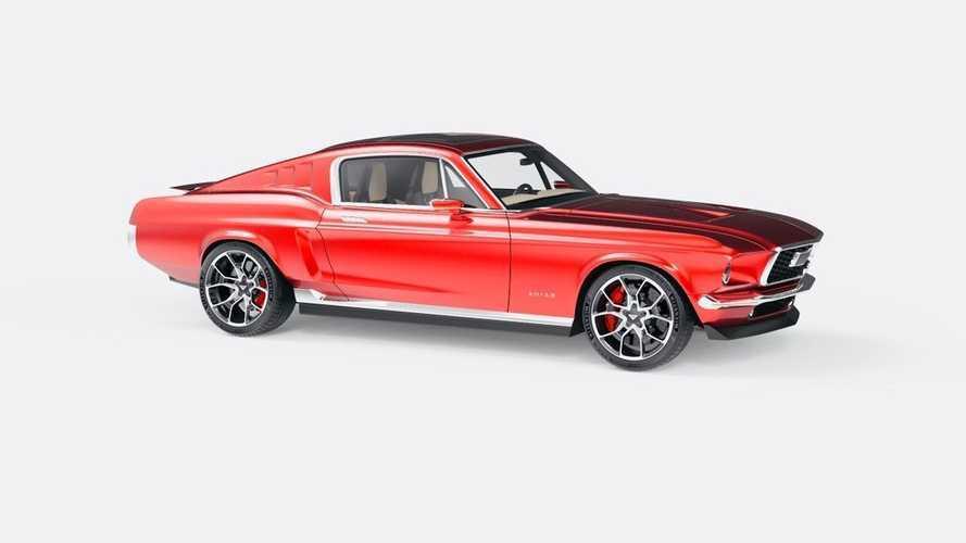 Классический Mustang возродят в России как электромобиль