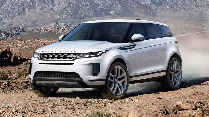 2020 Range Rover Evoque Debuts All-New Design, Mild-Hybrid Tech