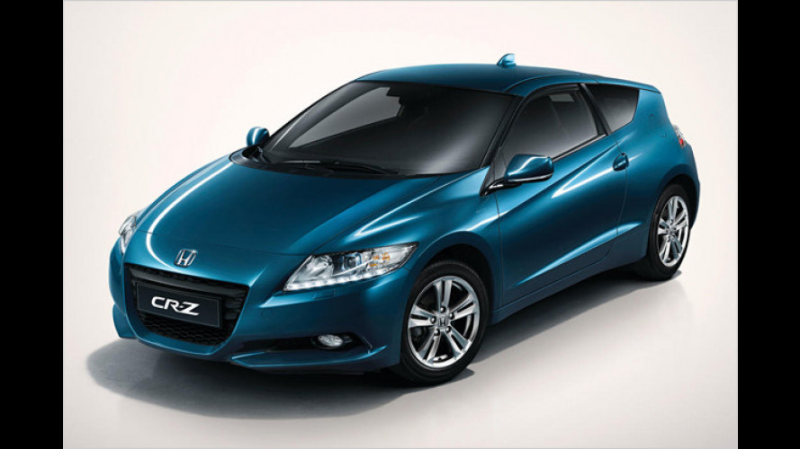 Honda CR-Z Hybrid-Sportler: Weltpremiere in Detroit