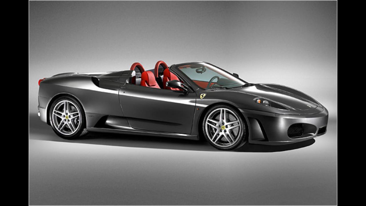 8. Platz: Ferrari F430 Spider