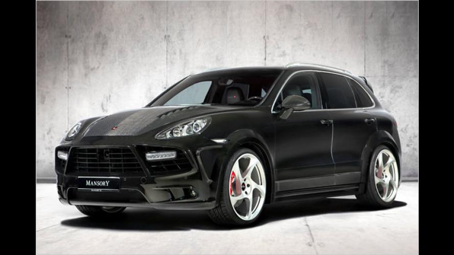 Porsche Cayenne: Mansory setzt auf Querformat