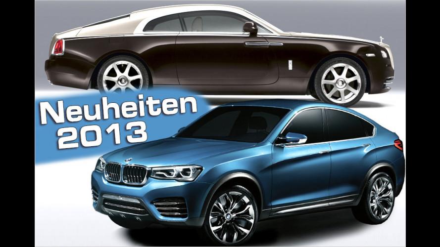 Auto-Neuheiten: Die Modell-Highlights aller Marken