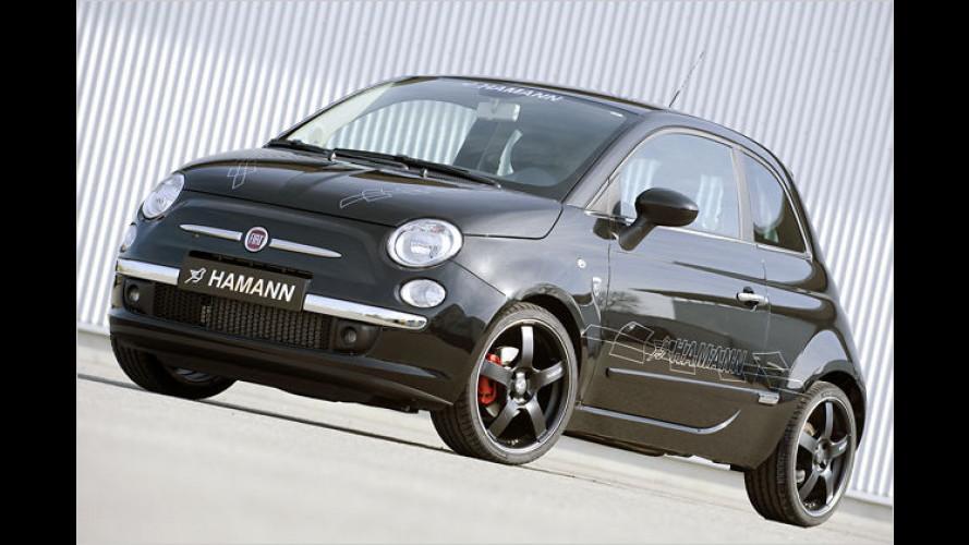 Hamann: Peppiges Tuning-Programm für den Fiat 500