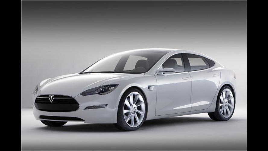 Strom für fünf: Tesla stellt die Limousine