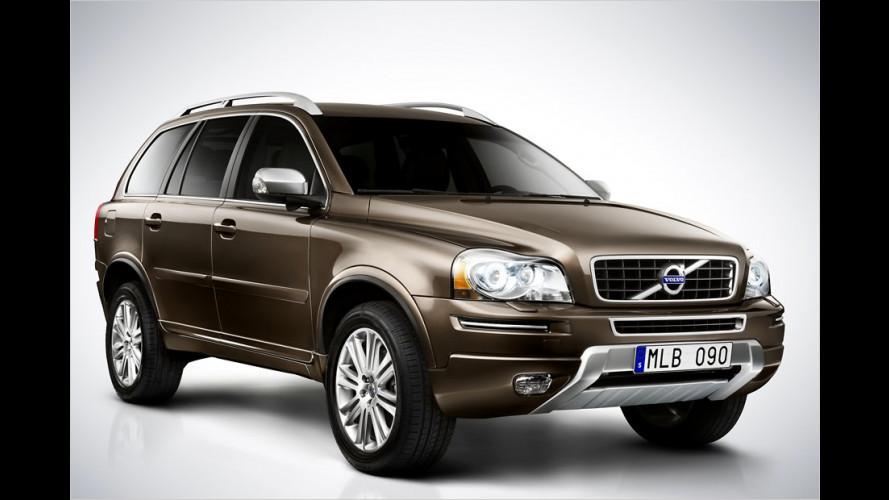 Volvo XC90: Großes SUV wird behutsam überarbeitet