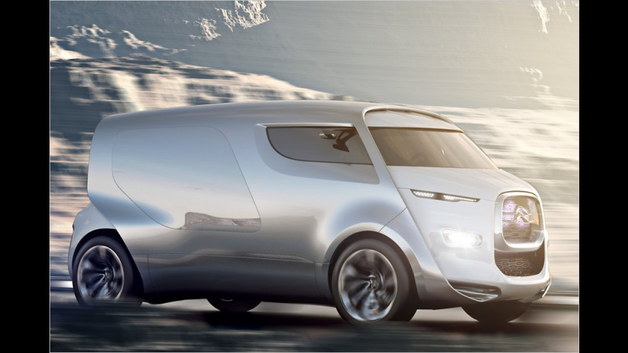 Citroën Tubik: Mit Transporter-Look und Lounge-Interieur