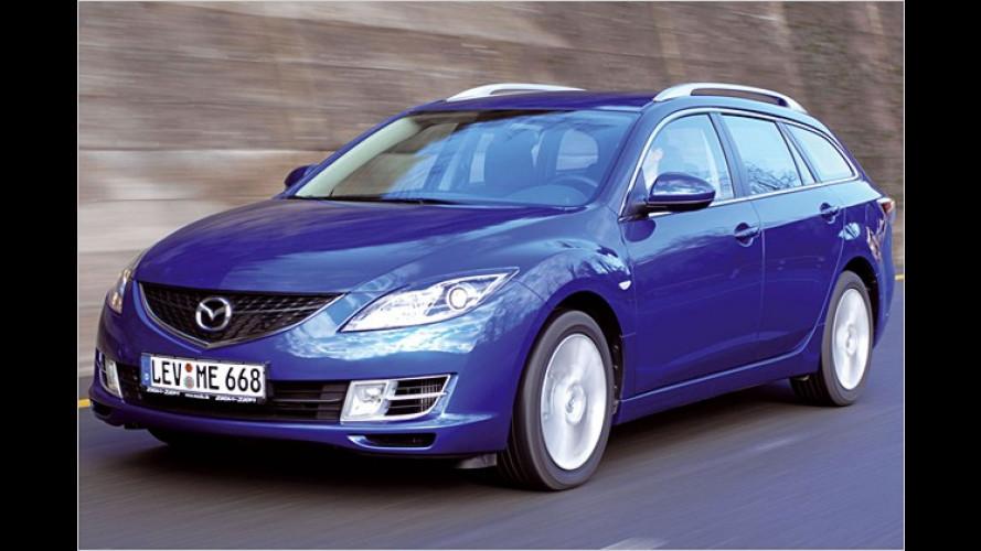Große Klappe, viel dahinter: Neuer Mazda 6 Kombi im Test