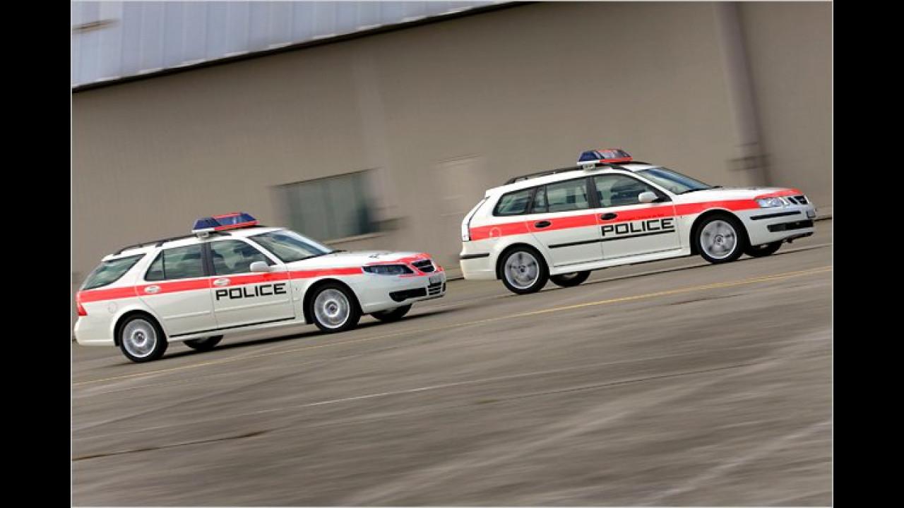 Saab 9-5 und 9-3