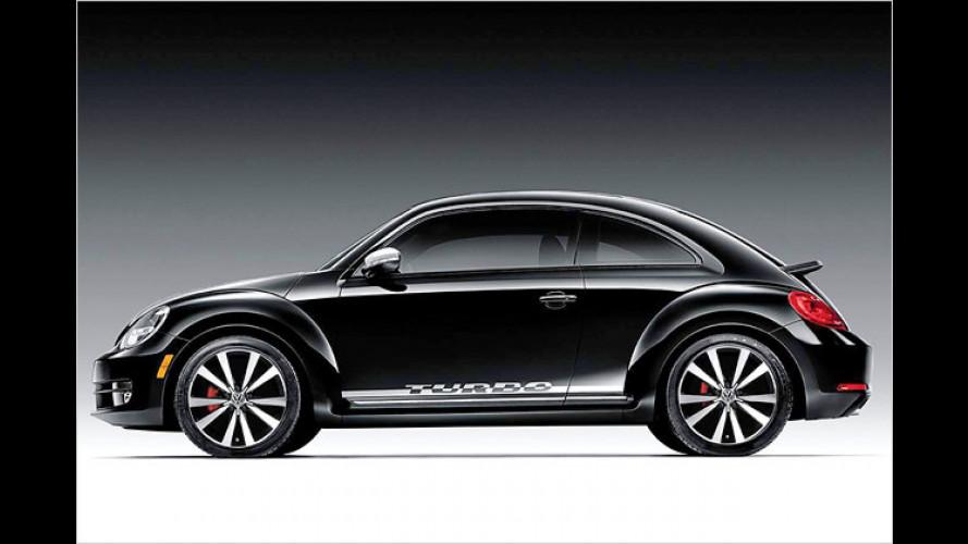 Black Turbo: Der neue Beetle als rasanter Flitzer