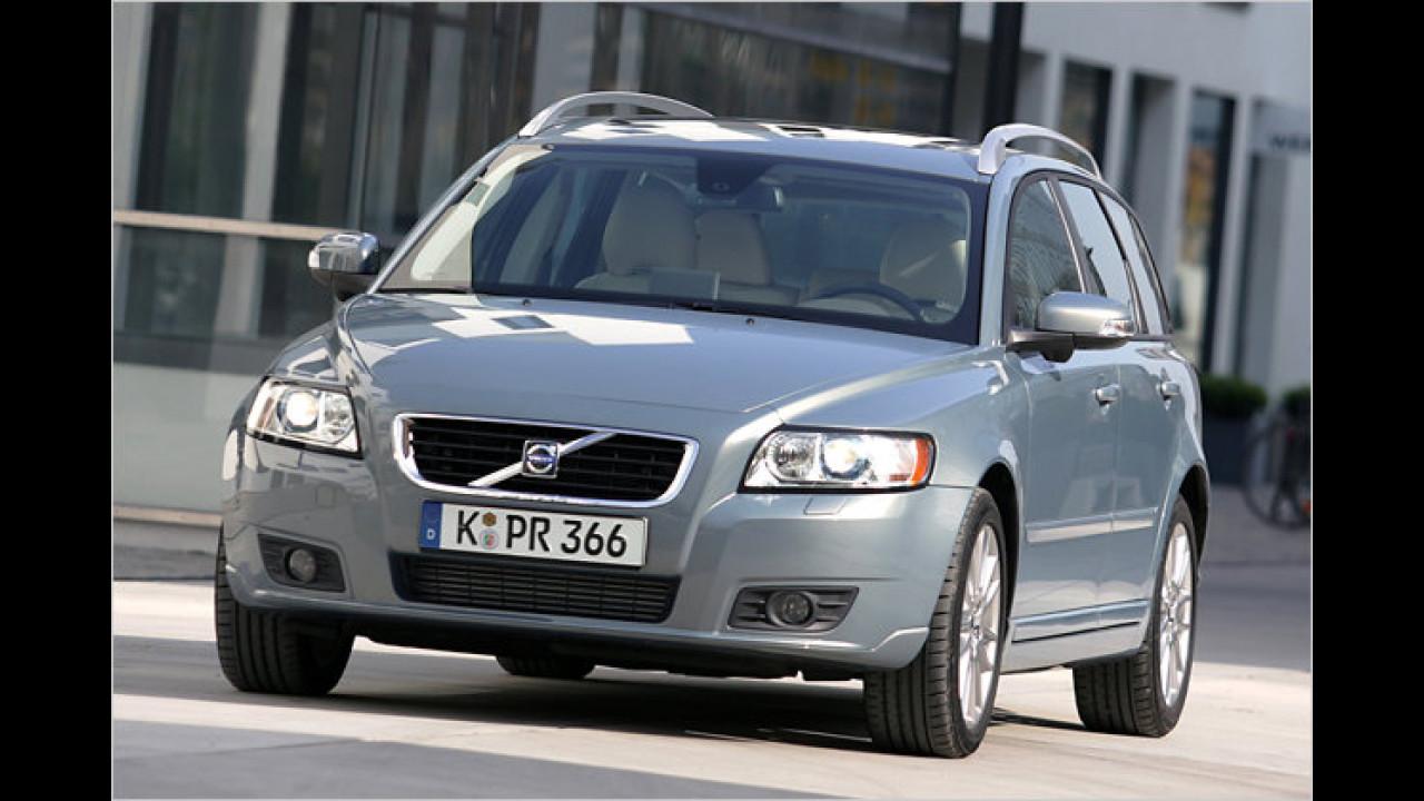Platz 2 Mittelklasse: Volvo V50