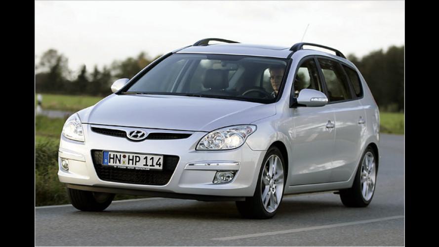 Hyundai i30cw: Neuer Basis-Benziner für Kombimodell