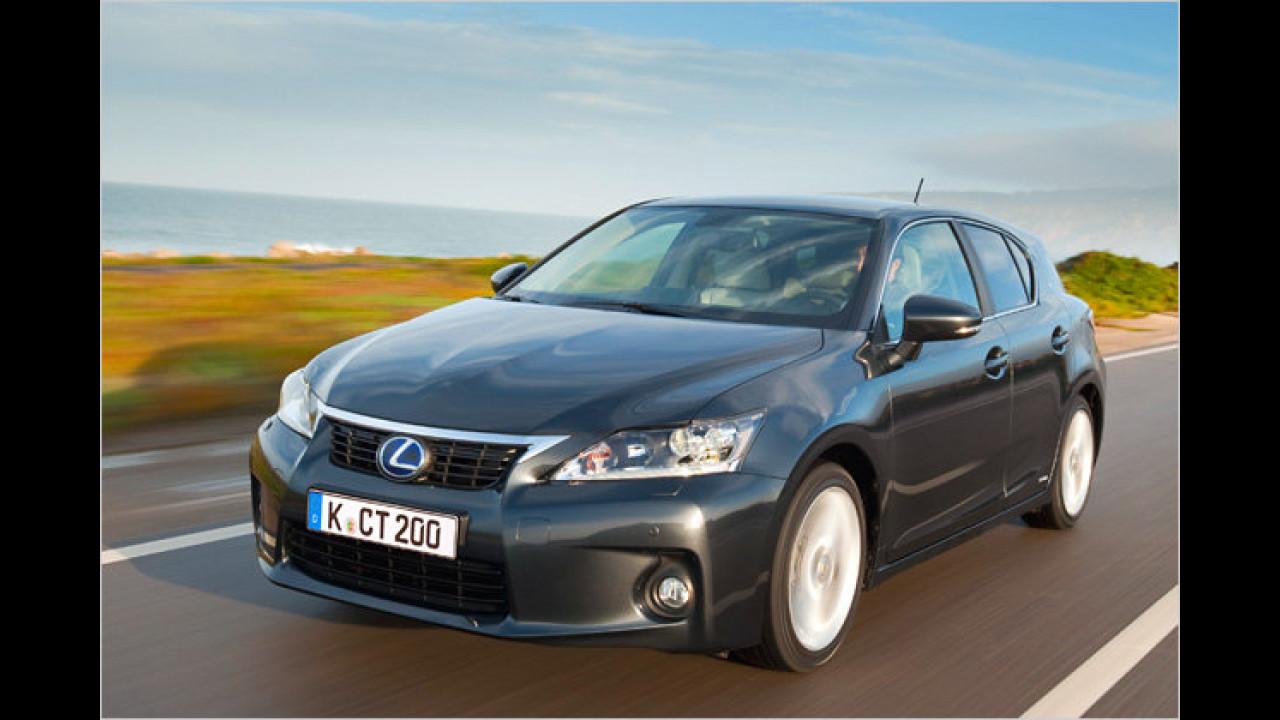 Hybridmodell: Lexus CT 200h