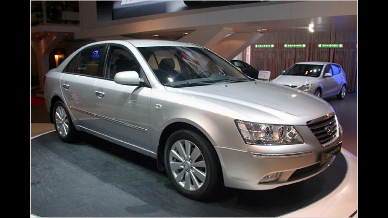 Der facegeliftete Hyundai Sonata heißt in neuer Nomenklatur i40