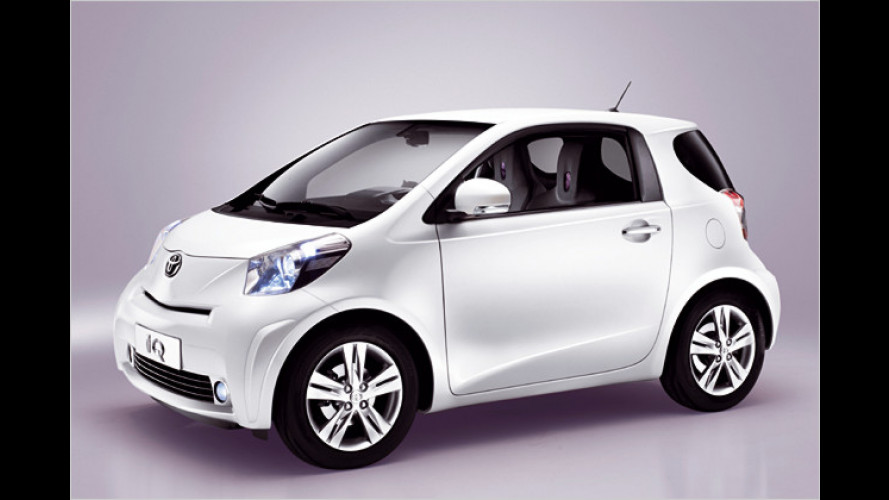 Toyota iQ: Die Preise des intelligenten Stadtflitzers