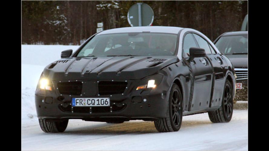 Erlkönig ertappt: Mercedes frischt den CLS auf