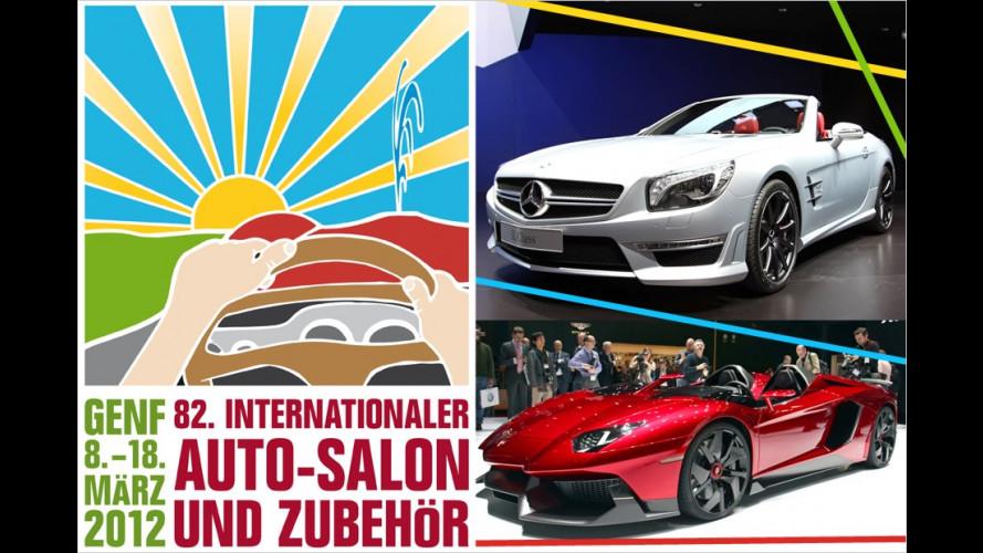 Die heißesten Sportwagen vom Genfer Autosalon 2012