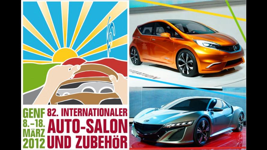 Genfer Autosalon 2012: Die Studien
