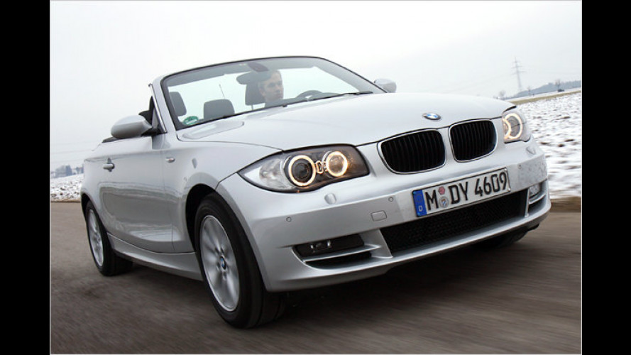 BMW 118d Cabrio im Test; Kompakter Open-Air-Cruiser