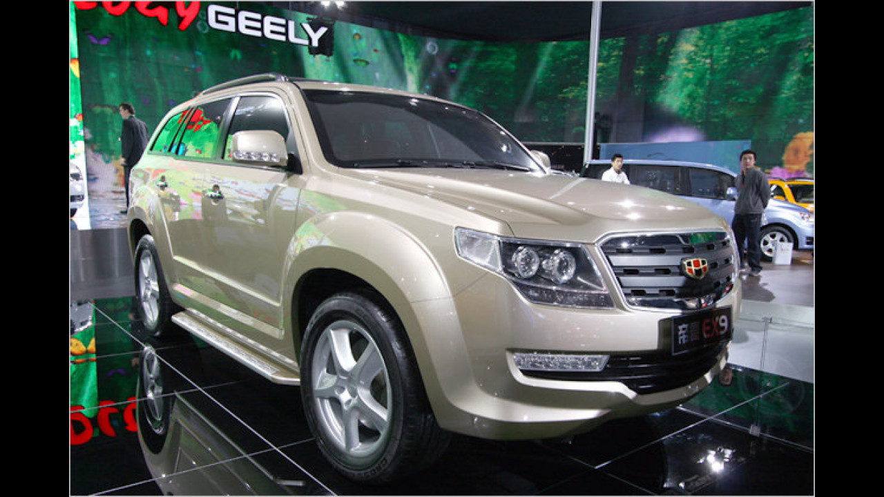 Geely Emgrand EX9