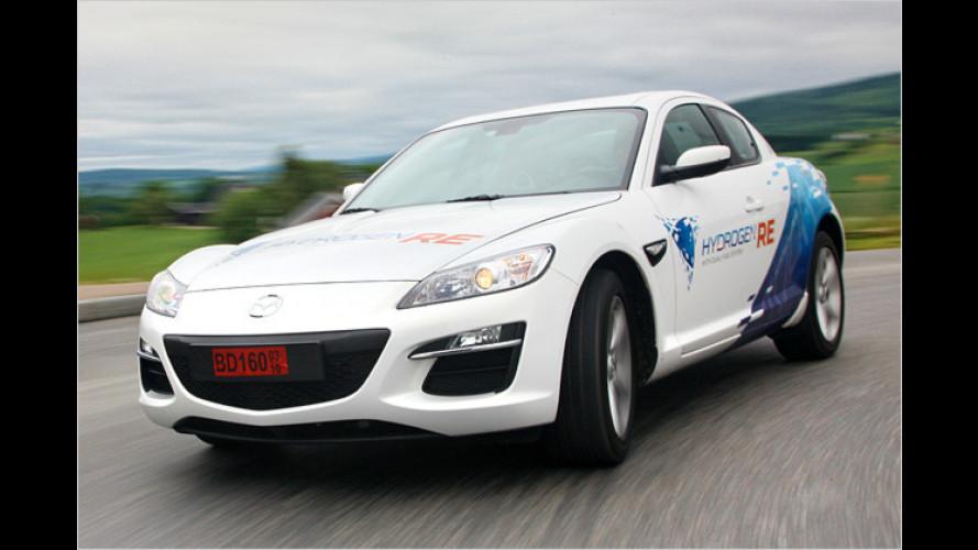 Mazda bringt Wasserstoff-RX-8 mit nach Le Mans