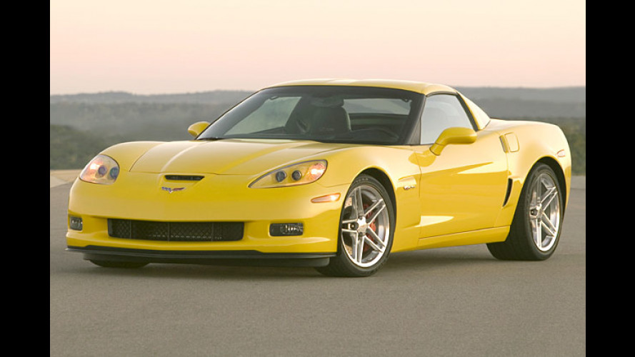 Hard-Corvette Z06 kommt: Renn-Vette für fette Rennen