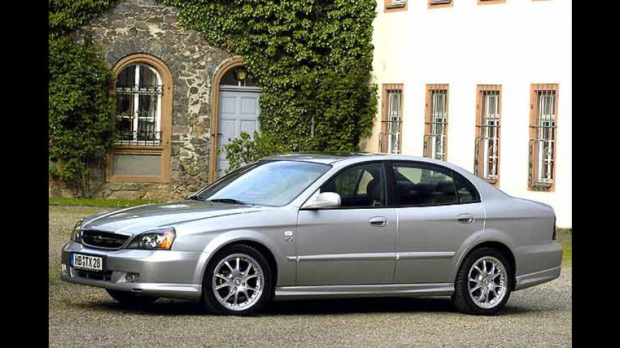 Sportliche Chevrolet: Evanda Sport und Nubira Kombi Sport