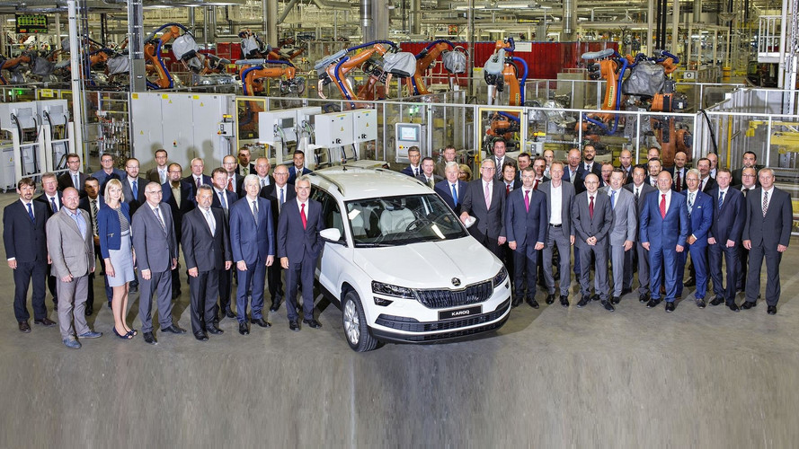 Skoda Karoq Compact SUV Enters Production (80 Images)