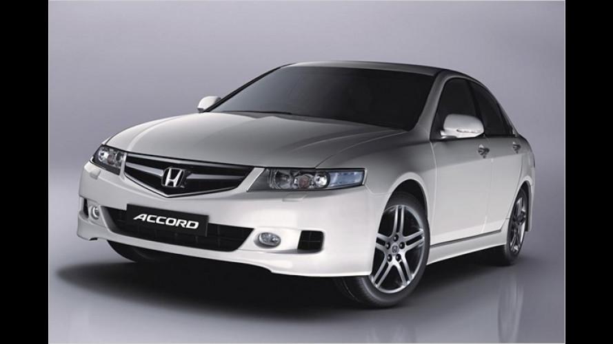 Honda präsentiert neue Sondermodelle für Accord und Jazz