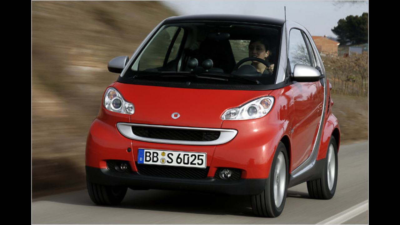 Smart Fortwo 1.0 Coupé pure 45 kW