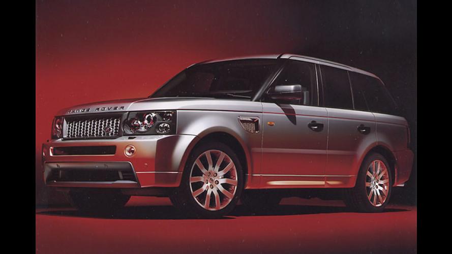Exclusiv: Sonderserie vom Range Rover Sport