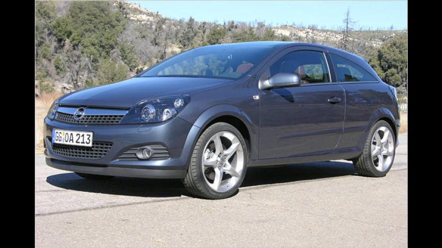 Mehr Blick: Der Opel Astra GTC mit 1,6-Liter-Turbo im Test
