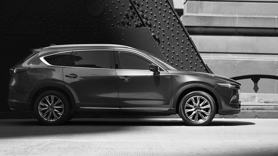 El Mazda CX-8 2018 nos enseña su perfil