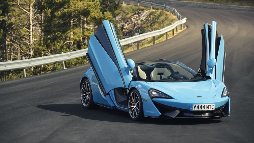 McLaren becomes the UK's fastest-growing luxury car brand