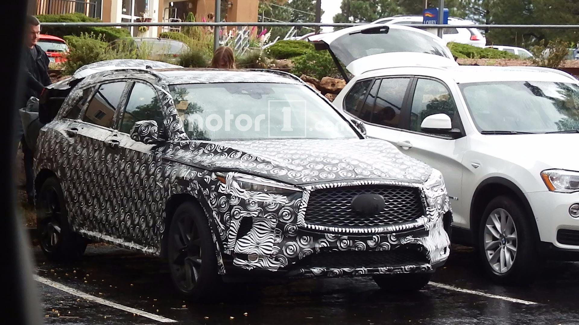 2018 Infiniti Qx50 Spied With Undisguised Exterior