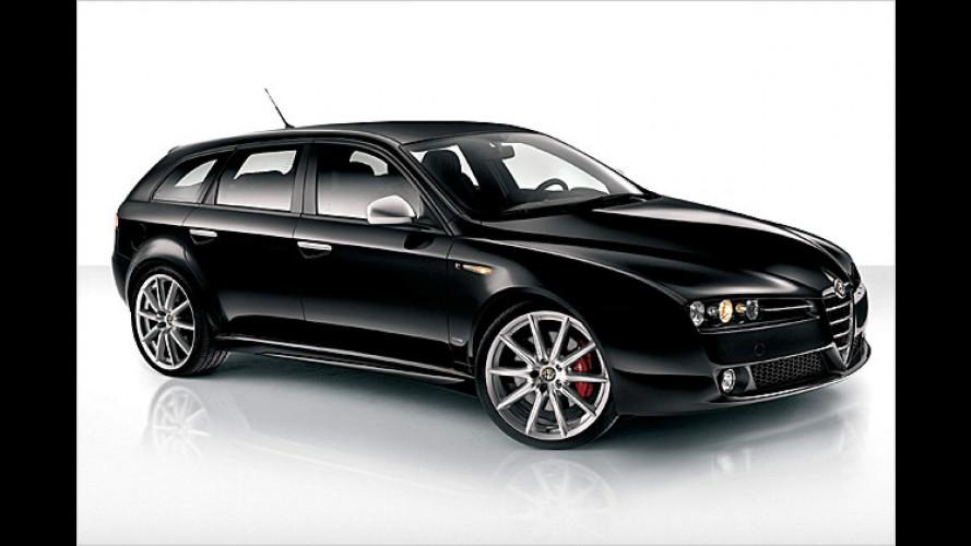 Alfa bringt den 159 mit neuer Top-Ausstattungsvariante ,TI