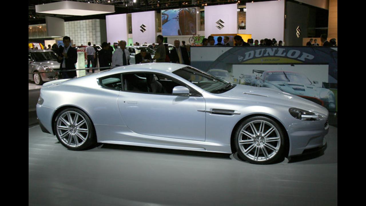 Der Aston Martin DBS stand schon James Bond in ,Casino Royale