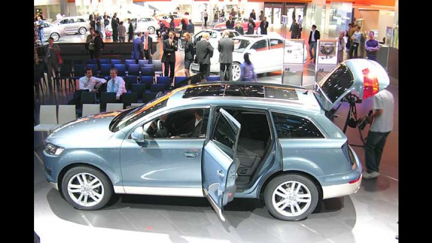 Audi Q7 Hybrid: Sauberer Sprinter steht in Frankfurt